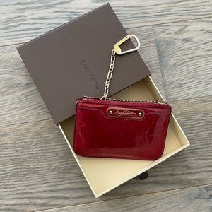 Louis Vuitton Vernis coin purse